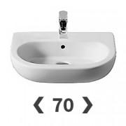 Раковины 70 см для ванны