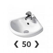 Раковины 50 см для ванной