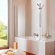 Однопанельные шторки для ванной