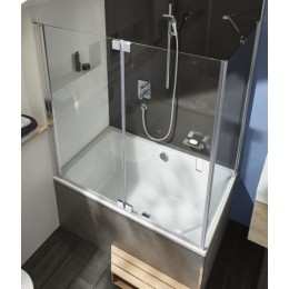 E6D129-GA Jacob Delafon Capsule, Шторка для ванны, 140х90 см