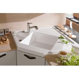 Villeroy&Boch Monumentum 3303 01 R1 Керамическая угловая мойка 90*90 см для кухни