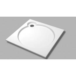TRAY-S-A-100-SCR-NR Встраиваемый поддон из искусственного мрамора CEZARES TRAY-S-A-56-W