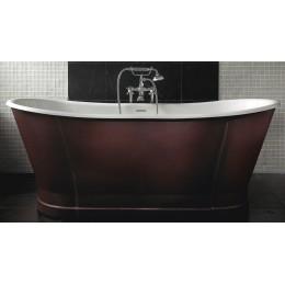 Ванна чугунная Imperial Luxury Radison Cuero с кожаной отделкой CI000106 170*68 см