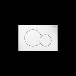 115.770.11.5 Geberit Sigma 01, Кнопка для инсталяции, цвет белый глянцевый