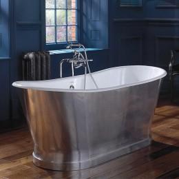 Ванна чугунная отделка полированный аллюминий Imperial  Radison CI000107 170*680 мм