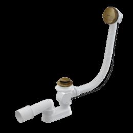 A55ANTIC-80 Alcaplast, Сифон для ванны, цвет бронза
