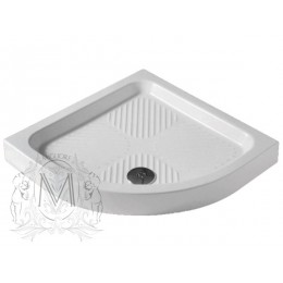 Душевой поддон Migliore ML.PDA-28.137.BI R90 см