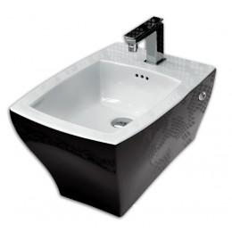 ArtCeram Jazz JZB001 Биде подвесное черно-белое 01; 50