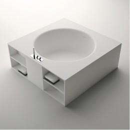 Agape vas1044 Ванна отдельностоящая в подиуме