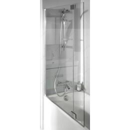 E4930-GA Jacob Delafon Bain-Douche Neo, Шторка для ванны,11.5х142 см,  серый блестящий