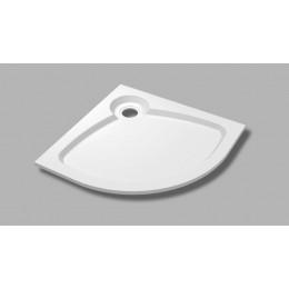 TRAY-S-R-100-550-56-LT Встраиваемый поддон из искусственного мрамора CEZARES TRAY-S-R-56-W