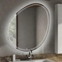 44777 Зеркало со встроенной LED подсветкой 98х75 см 44777