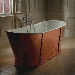 Ванна чугунная отделка медь Imperial Luxury Baglioni Cobra CI000105 170*68 см