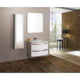 44786 Колонна для ванной комнаты с зеркалом реверсная CEZARES