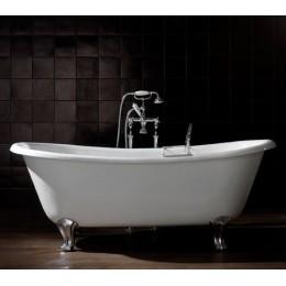 Devon&Devon Admiral 2mradmIralaldd Ванна чугунная на ножках алюминиевых 182*81 см