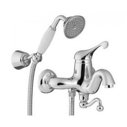 2100.CC.PL TREEMME PICCADILLY Смеситель для ванны хром/керамика