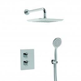 44950R2SOFKIT.CR LA TORRE LAGHI Душевой набор: верхний душ, ручной душ, термостат, хром