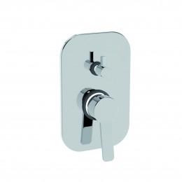 42050/RLPE.CR LA TORRE NEWPRO Внешняя часть смесителя для душа встр. с перекл., хром