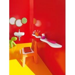 Зеркало с подсветкой Laufen FLORAKIDS 4.6161.1.003.472.1 Зелёный