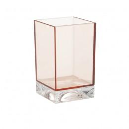 Стакан для зубных щеток Kartell by Laufen   3.8233.0.093.000.1   пластик, цвет розовый пудровый