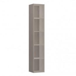 Высокий открытый шкаф-пенал  Laufen  Space   4.1090.0.160.101.1  170x30х29,4 см,  светлый орех,  4 полки