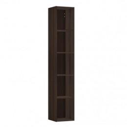 Высокий открытый шкаф-пенал  Laufen  Space   4.1090.0.160.103.1  170x30х29,4 см,  4 полки, темный вяз