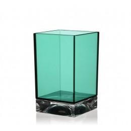 Стакан для зубных щеток Kartell by Laufen   3.8233.0.092.000.1   пластик, цвет изумрудный зеленый