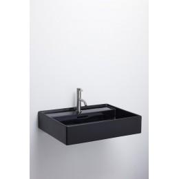 Раковина  Laufen  Kartell by Laufen 8.1033.3.020.109.1  60 см, без отверстия для смесителя, черная