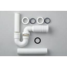 Сифон для раковины  трубный  Laufen  8.9497.5.000.000.1 пластиковый