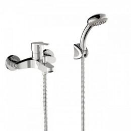 BASE-TRES Однорычажный смеситель для ванны и душа