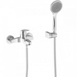 BASE-TRES PLUS Однорычажный смеситель для ванны и душа