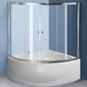 Полукруглые шторки для ванны